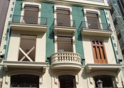 fachada Calle Pintor Sorolla